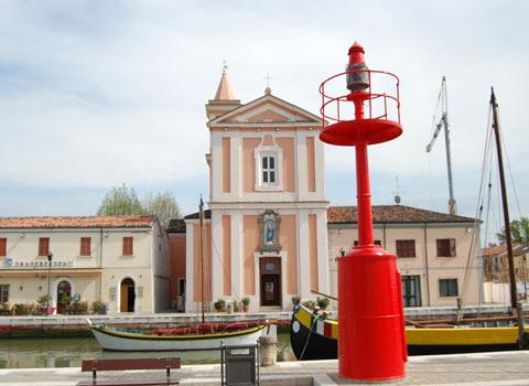 visit cesenatico Chiesa San Giacomo