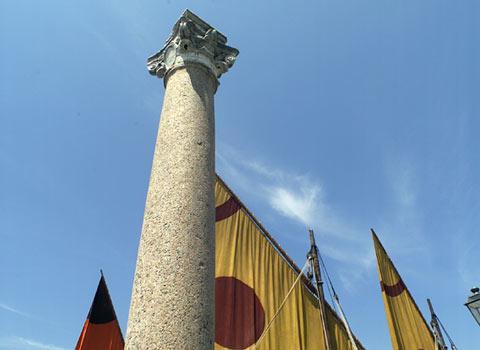 visit cesenatico Colonne Bizantine