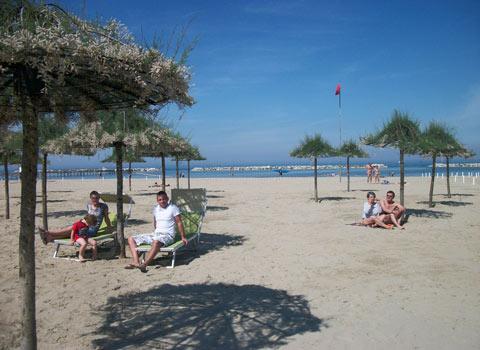 visit cesenatico spiaggia delle tamerici