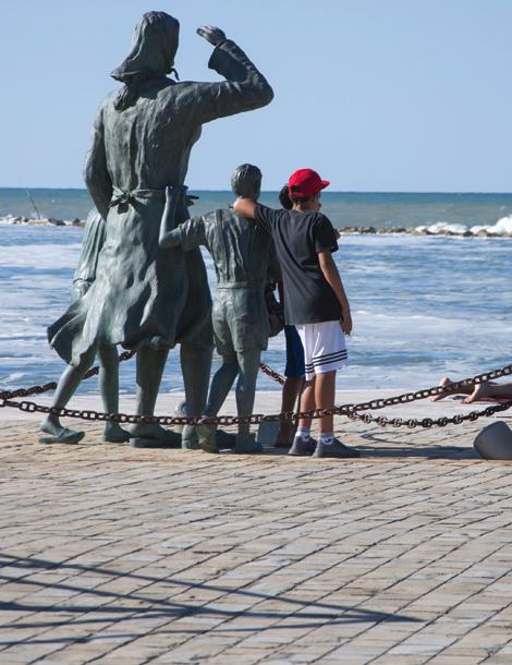 Visit Cesenatico arte cultura Itinerario Cesenatico marinara
