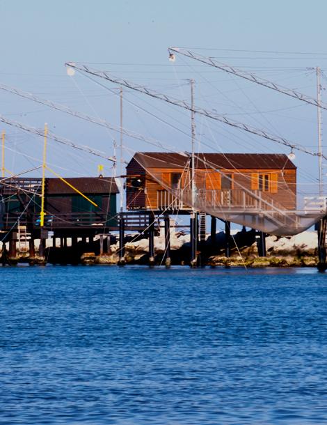Visit Cesenatico mare capanni da pesca