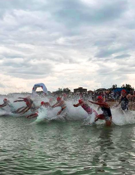 Visit Cesenatico sport benessere fare triathlon a Cesenatico