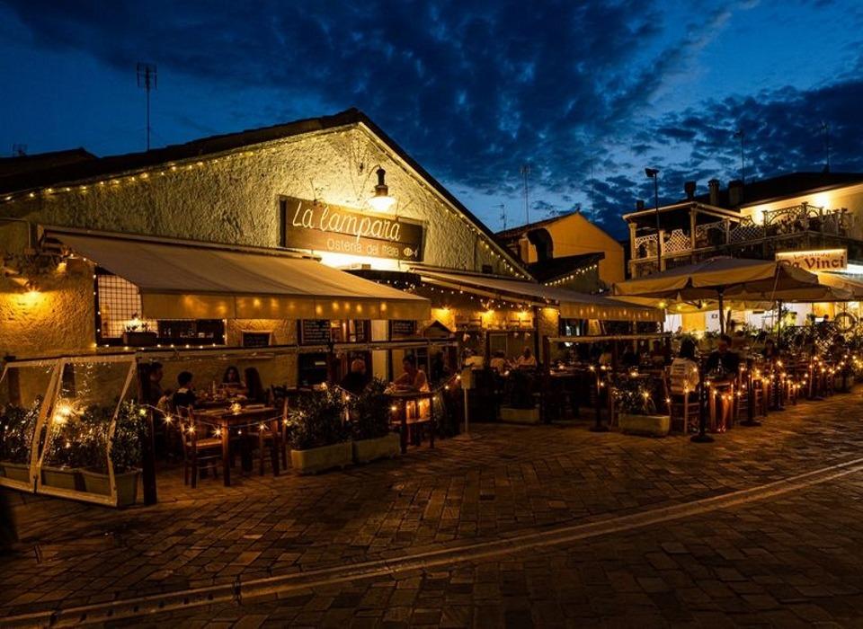visit cesenatico ristorante La Lampara