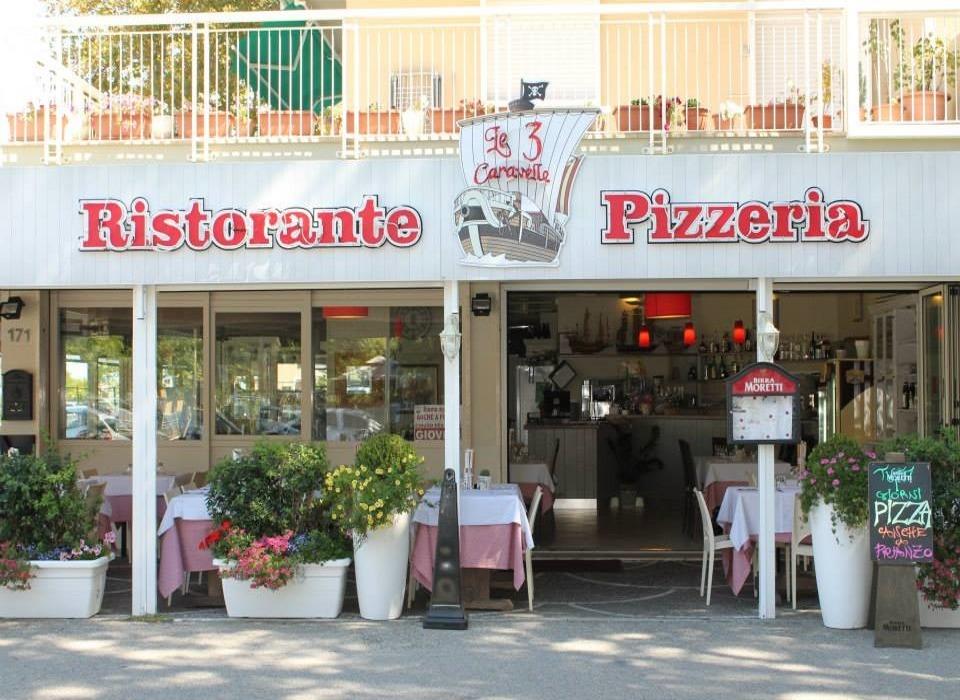 visit cesenatico ristorante Le Tre Caravelle